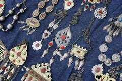 Vrouw jewelry5 Royalty-vrije Stock Foto