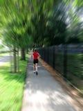 Vrouw jogger stock foto