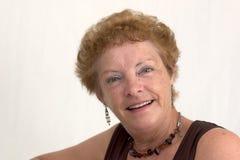 Vrouw met een mooie glimlach (2) Stock Afbeeldingen