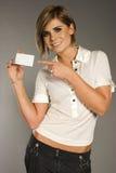 Vrouw met kaart stock afbeeldingen