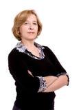 Vrouw op middelbare leeftijd Stock Afbeeldingen