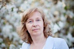 Vrouw op middelbare leeftijd Stock Afbeelding