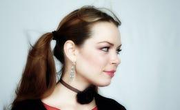 Vrouw portret-20 stock afbeelding