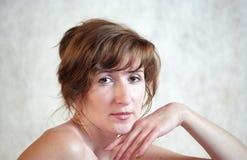 Vrouw. Portret Stock Foto's