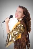 Vrouw in Spaanse kleding Royalty-vrije Stock Foto