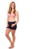 Vrouw in Swimwear Stock Afbeelding
