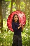 Vrouw Thai stock afbeeldingen