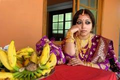 Vrouw van Kerala stock foto's