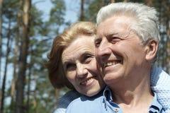 Vrouw van Nice ging zijn toevlucht nemen Royalty-vrije Stock Foto's