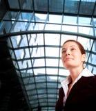 Vrouw in zaken Stock Foto
