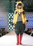 Vrouwelijk Azië model bij een modeshow Royalty-vrije Stock Fotografie