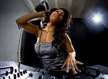 Vrouwelijk DJ Stock Afbeelding