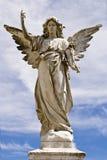 Vrouwelijk engelenstandbeeld Royalty-vrije Stock Afbeelding