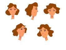 Vrouwelijk gezicht Royalty-vrije Stock Afbeelding