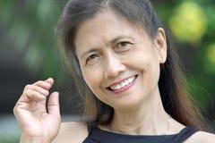 Vrouwelijk hoger portret royalty-vrije stock afbeeldingen