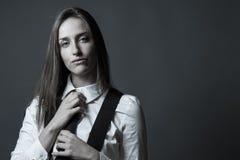 Vrouwelijk Hoofdartikel op Mannelijkheid Royalty-vrije Stock Afbeelding
