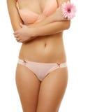 Vrouwelijk lichaam Stock Afbeeldingen