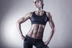 Vrouwelijk lichaam Stock Foto's