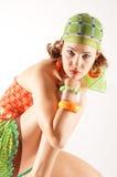 Vrouwelijk manierportret Stock Fotografie