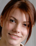 Vrouwelijk portret royalty-vrije stock foto's