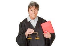 Vrouwelijke advocaat Royalty-vrije Stock Foto's