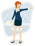 Vrouwelijke Advocaat Royalty-vrije Stock Afbeelding