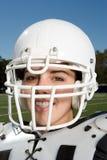 Vrouwelijke Amerikaanse voetballer Royalty-vrije Stock Foto