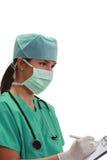Vrouwelijke anaesthesiologist Royalty-vrije Stock Fotografie