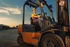 Vrouwelijke arbeider Stock Foto