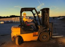 Vrouwelijke arbeider Stock Fotografie