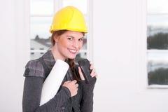 Vrouwelijke architect Stock Fotografie