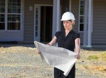 Vrouwelijke Architect Royalty-vrije Stock Foto