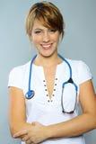 Vrouwelijke arts Stock Afbeeldingen