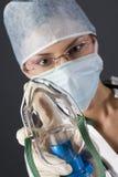 Vrouwelijke arts Royalty-vrije Stock Afbeeldingen