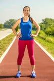 Vrouwelijke atleet Stock Foto's