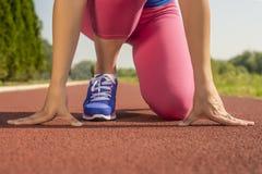 Vrouwelijke atleet Royalty-vrije Stock Foto's