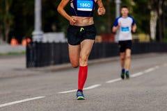 Vrouwelijke Atleet Runner Royalty-vrije Stock Afbeeldingen