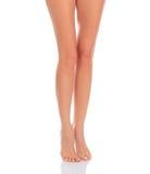 Vrouwelijke benen royalty-vrije stock foto's