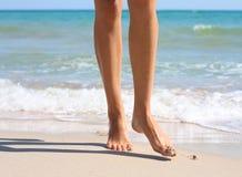 Vrouwelijke benen Royalty-vrije Stock Afbeeldingen