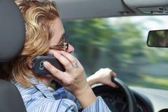 Vrouwelijke bestuurder Stock Fotografie