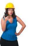 Vrouwelijke bouwvakker Royalty-vrije Stock Fotografie