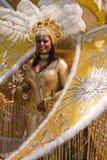 Vrouwelijke Cariwest-Deelnemer Stock Afbeeldingen