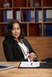 Vrouwelijke CEO Stock Afbeelding
