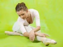 Vrouwelijke danser stock afbeeldingen