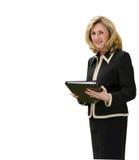 Vrouwelijke directeur stock afbeeldingen