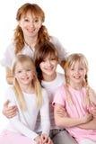 Vrouwelijke familie Stock Foto's