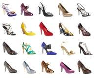 Vrouwelijke footwea Stock Fotografie