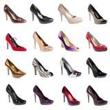 Vrouwelijke footwea Stock Foto