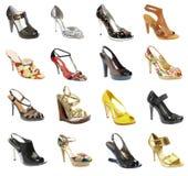 Vrouwelijke footwea Royalty-vrije Stock Afbeeldingen
