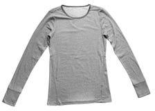 Vrouwelijke geïsoleerde t-shirt Royalty-vrije Stock Foto's
